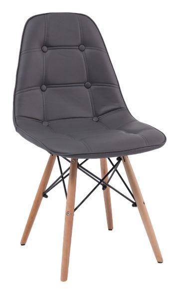 Ēdamistabas krēsls Signal Meble Axel Gray, 1 gab.