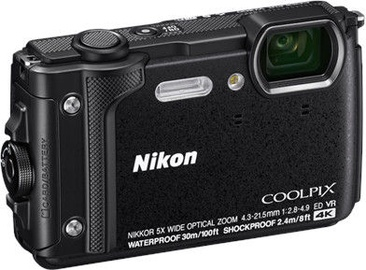 Цифровой фотоаппарат Nikon Coolpix W300 Black