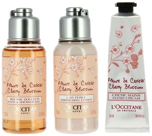 L´Occitane Fleurs De Cerisier Cherry Blossom 3pcs Set 180ml