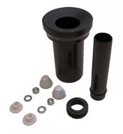 Tualetes poda pieslēgšanas komplekts Tece 982, plastmasas