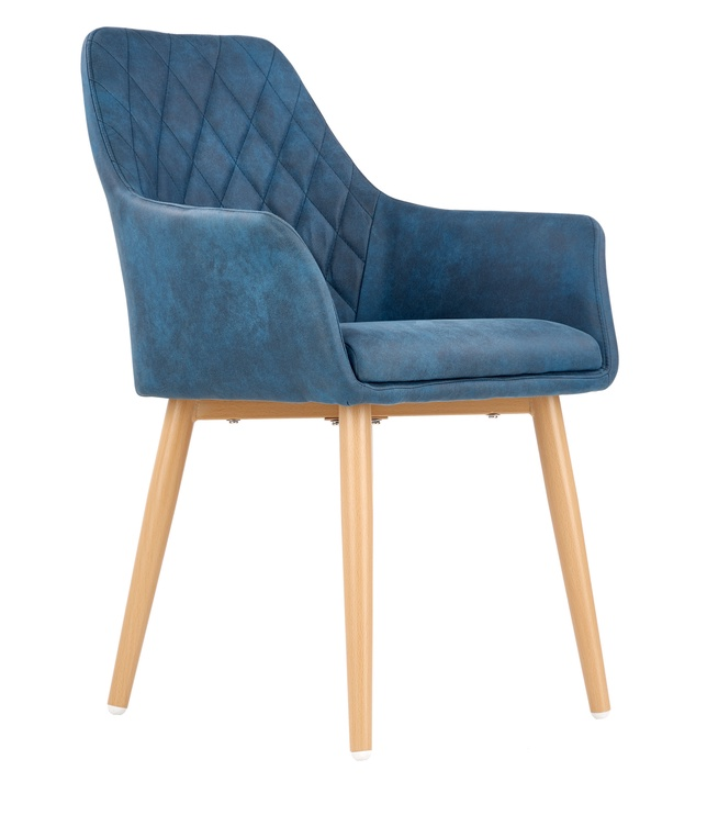 Ēdamistabas krēsls Halmar K287 Dark Blue