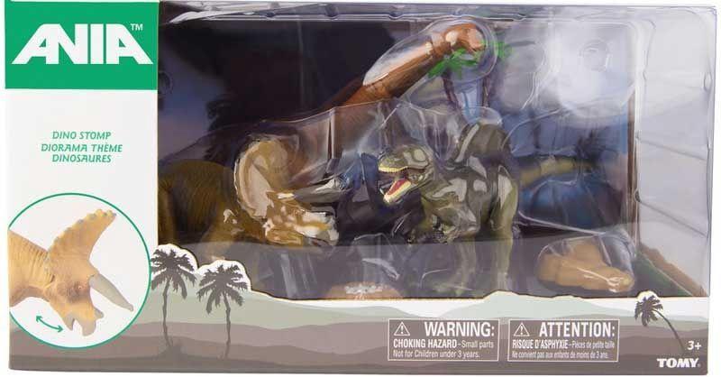Фигурка-игрушка Tomy Dino Stomp Set