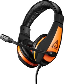 Austiņas Canyon CND-SGHS1 Black/Orange