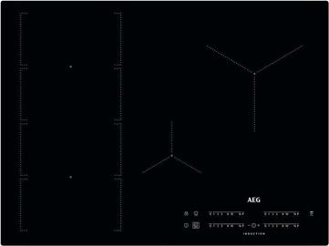 AEG Induction Surfaces IKE74471IB Black