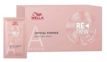 Matu krāsas noņēmēja pulveris Wella Professionals Color Renew Crystal Powder, 5x9 g