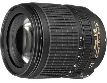 Objektīvs Nikon AF-S Nikkor DX 18-105/3.5-5.6 G VR ED, 420 g