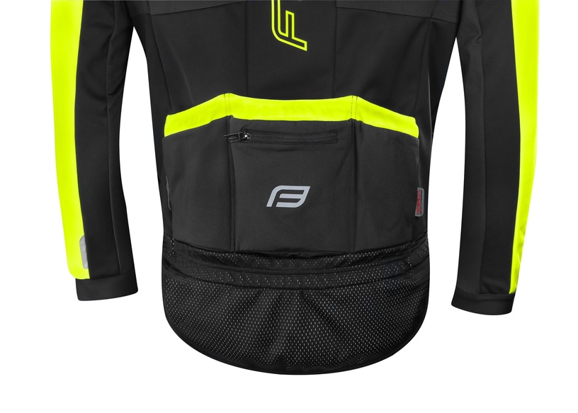 Force X100 Jacket Unisex Black/Yellow XXL