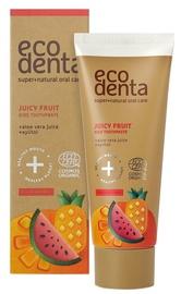 ECODENTA Сертифицированная органическая сочная фруктовая зубная паста для детей 75ml