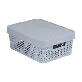 Curver Infinity Perforated Box 11l Grey