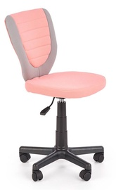 Bērnu krēsls Halmar Toby Pink/Grey, 440x520x780 mm