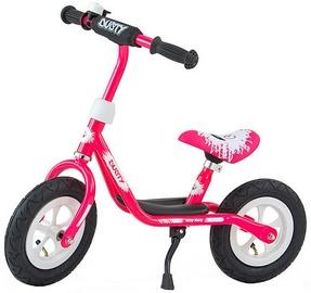 Velosipēds Milly Mally Dusty 10'' Balance Bike Pink White 3265