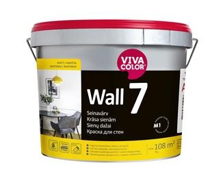 Vivacolor Wall 7 Paint 9l White
