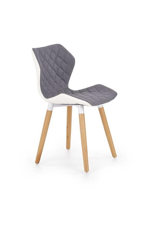 Ēdamistabas krēsls Halmar K277 White/Grey