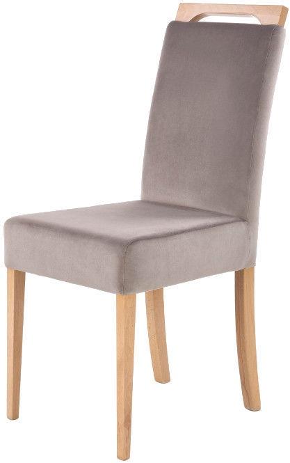 Ēdamistabas krēsls Halmar Clarion Honey Oak/Riviera 91, 1 gab.