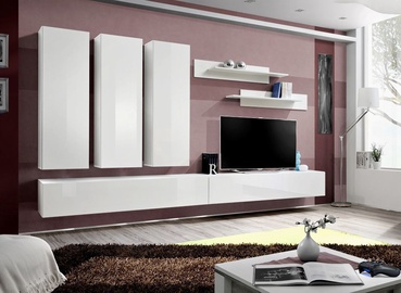 Dzīvojamās istabas mēbeļu komplekts ASM Fly E1 White