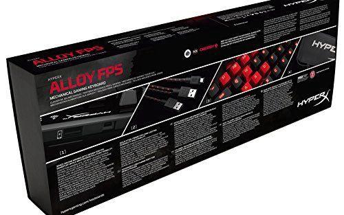 Kingston HyperX Alloy Mechanical Gaming Keyboard Red ENG
