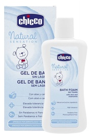 Chicco Natural Sensation No-Tears Bath Foam 200ml