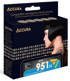Accura Ink Cartridge HP 24ml Yellow