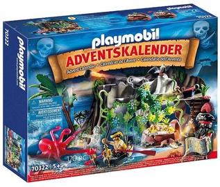 Playmobil Pirate Cove Treasure Hunt Advent Calendar 70322