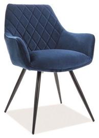 Ēdamistabas krēsls Signal Meble Linea Velvet Blue