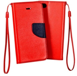 Mocco Fancy Book Case For Samsung Galaxy S6 Red/Blue