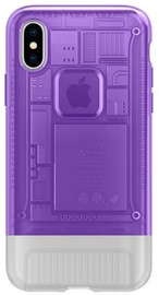 Spigen Classic C1 Back Case For Apple iPhone X/XS Purple