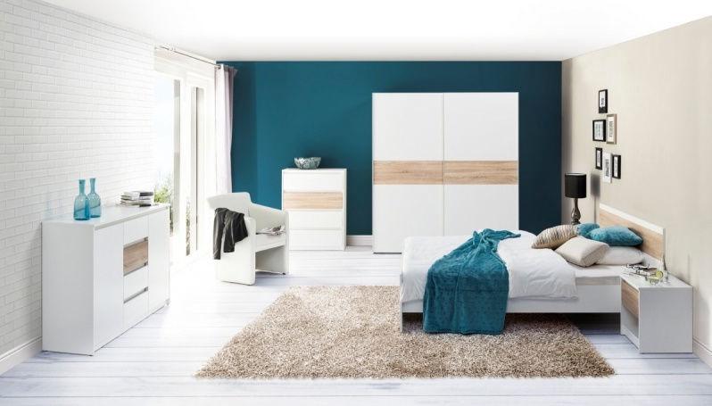 Guļamistabas mēbeļu komplekts Szynaka Meble Venice