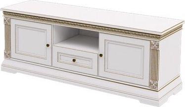ТВ стол ZOV Patricija Elegant T2-150, кремовый, 1518x468x637 мм