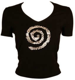 Bars Womens T-Shirt Black 127 XL