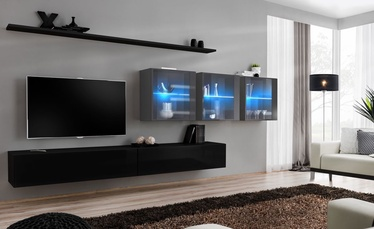 ASM Switch XVII Wall Unit Black/Graphite