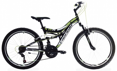 "Velosipēds Capriolo CTX 240 24"" Black Green"
