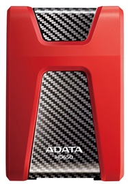 "Adata 2.5"" DashDrive Durable HD650 1TB Red"