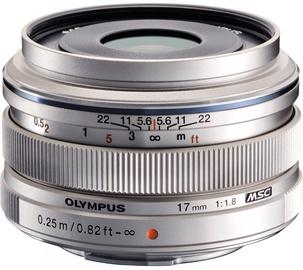 Объектив Olympus 17mm F1.8 M.Zuiko Digital Silver, 120 г