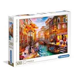 Пазл Clementoni Puzzle High Quality Collection Sunset Over Venice 500pcs 35063