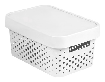Curver Infinity Perforated Box 4.5l White