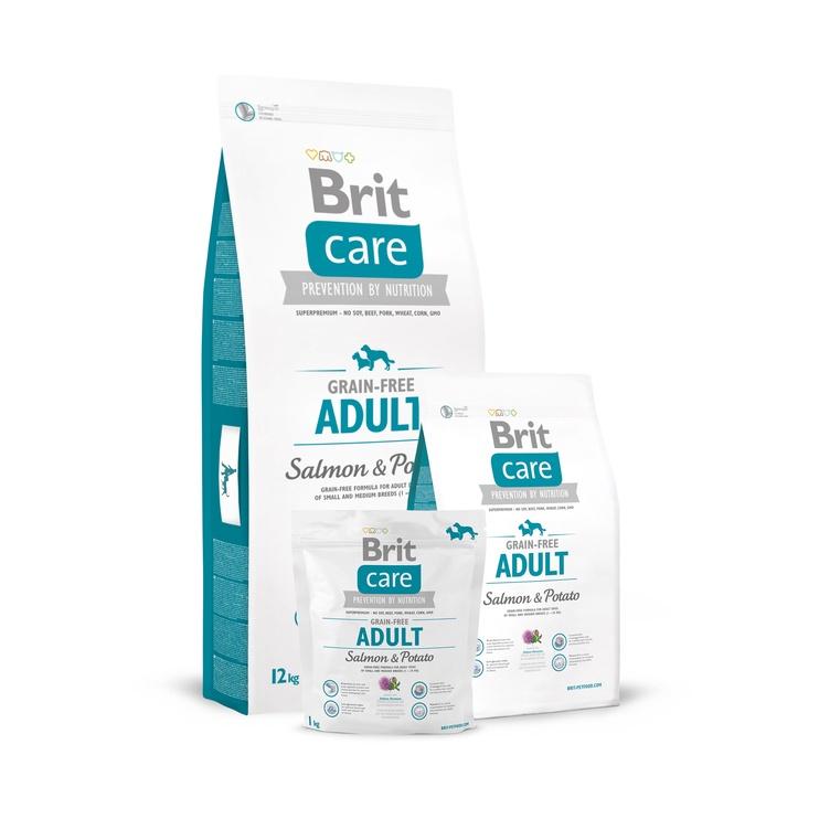 Brit Care Grain-Free Adult Salmon & Potatoes 3kg