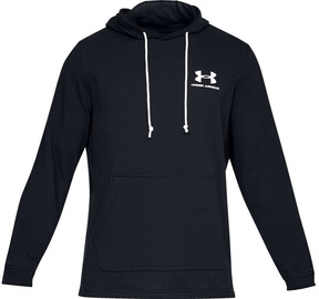 Džemperi Under Armour Mens Sportstyle Terry Pullover Hoodie 1329291-001 Black S