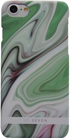 So Seven Fashion Carrare Marble Back Cover For Apple iPhone 7/8 Green