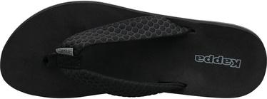 Kappa Pahoa Womens Flip Flops 242668-1111 Black 37