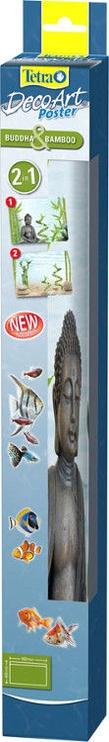 Tetra DecoArt Poster Buddha & Bamboo