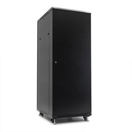 Netrack Economy Standing Server Cabinet 32U/800x800mm Perforated Black