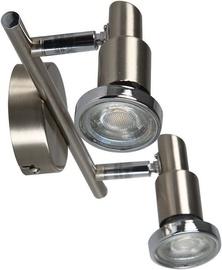 Brilliant Ryan G57413/77 Ceiling Lamp Nickel