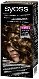Syoss Color Permanent Hair Color 5 8 Hazelnut Brown