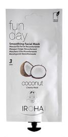 Sejas maska Iroha Nature Smoothing Creamy Facial Mask Fun Day Coconut, 25 g