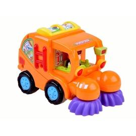 Bērnu rotaļu mašīnīte Garbage Truck, oranža