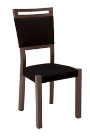 Black Red White Alhambra Chair Dark Brown/Black