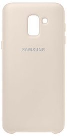 Samsung Dual Layer Cover For Samsung Galaxy J6 Gold