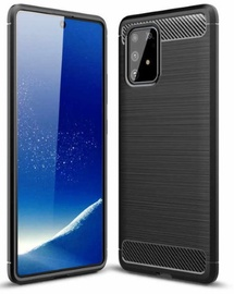 TakeMe Carbon Effect Back Case For Samsung Galaxy S10 Lite Black