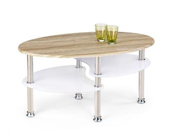 Kafijas galdiņš Halmar Medea Sonoma Oak/White, 900x500x450 mm