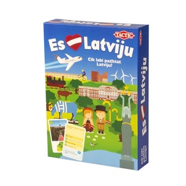 Настольная игра Tactic Es Mīlu Latviju 58011T, LV